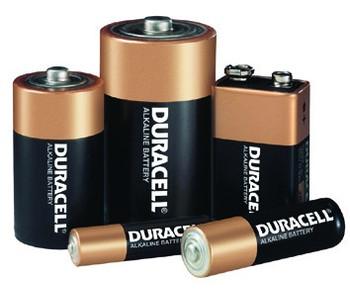 Duracell Alkaline Batteries: Choose Size
