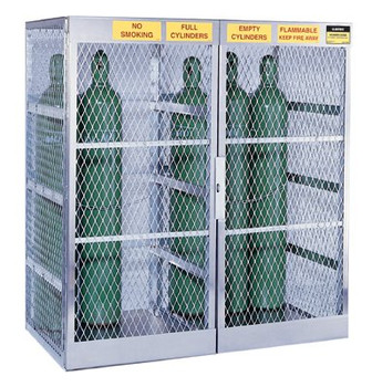 Aluminum Cylinder Lockers (18 Cylinders): 23008