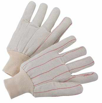 1000 Series Canvas Gloves (Large): 1060 (White)