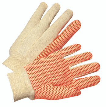 Anchor Cotton Dotted Canvas Gloves (Large): 1090