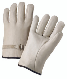 4000 Series Cowhide Leather Driver Gloves (Small): 4100S