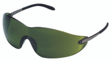 Blackjack Protective Eyewear (Chrome with Green 3.0 Lens): S21130
