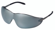 Blackjack Protective Eyewear (Chrome with Silver Mirror Lens): S2117