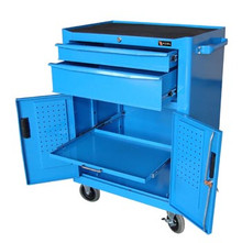 Two Drawer Roller Cabinet (Blue)