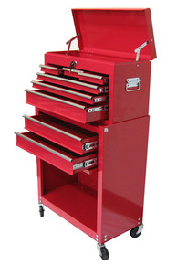 Two Piece Metal Roller Tool Chest (Choose Color)