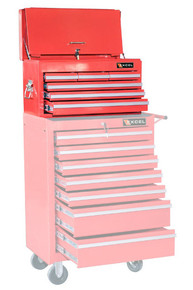 Six Drawer Top Tool Chest (Red or Black) 1