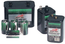 Bright Star Heavy Duty Batteries (D-Cell): 33040