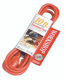 Vinyl Extension Cords (10 ft.): 02304