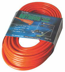 Vinyl Extension Cords (100 ft.): 02309