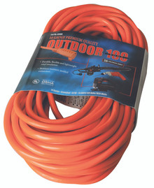 Vinyl Extension Cords (100 ft.): 02409