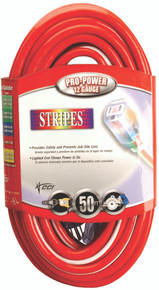 Stripes Extension Cords (50 ft.): 02548-88-41