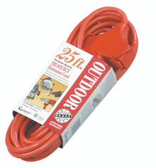 Tri-Source Vinyl Multiple Outlet Cords (25 ft.): 04217