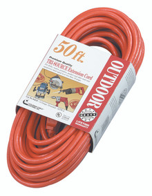 Tri-Source Vinyl Multiple Outlet Cords (50 ft.): 04218