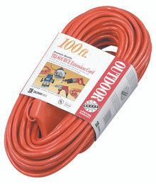 Tri-Source Vinyl Multiple Outlet Cords (100 ft.): 04219