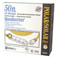 Quadnector Polar/Solar Multiple Outlet Cords (50 ft.): 04428