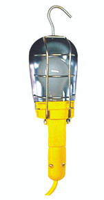 Safety Yellow Incandescent Hand Lamps (25 ft.): WT6C-25
