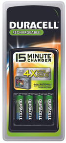 Duracell 15-Minute Chargers: CEF15NC