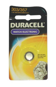 Duracell Watch/Electronic Batteries (1.5 V): D303/357PK
