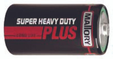 Duracell Heavy Duty Batteries (D): M13SHD