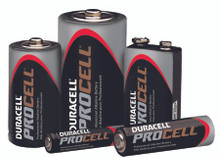 Duracell Procell Batteries (9V): PC1604BKD