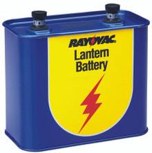 Lantern Batteries (6V Screw Type): 918