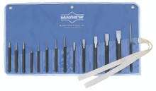 14 Pc Punch and Chisel Kits: 61044
