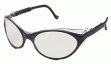 Bandit Eyewear (Black with Clear Lens): S1600