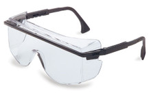 Astrospec OTG 3001 Eyewear (Black with Clear Lens): S2500