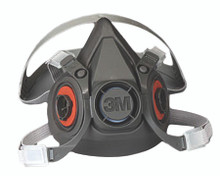 6000 Series Half Facepiece Respirators (Small): 6100