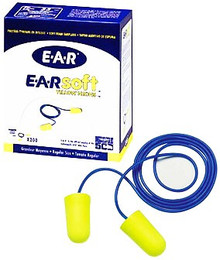 E-A-Rsoft Yellow Neons Foam Earplugs (33 dB): 311-1250