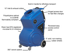 Abatement Technologies Portable Air Scrubber: PRED1200UV