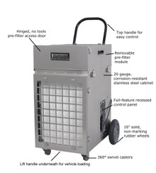 Abatement Technologies HEPA-AIRE® Portable Air Scrubber: PAS2400 1