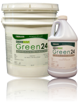 ShockWave Green24 - Botanical and Silver Disinfectant: (Five Gallon): 8319