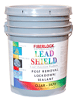 Lead Shield Post Removal Lockdown - Clear (Five Gallon): 5470