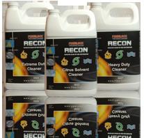 Fiberlock Recon Restoration Cleaners: Choose Model