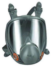 3M 6000 Series Full Facepiece Respirators: Choose Size