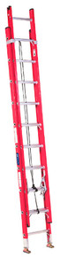 Louisville FE3200 Series Fiberglass Channel Extension Ladders: Choose Size