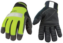 Safety Lime Lined with Kevlar®: 08-3083-10-Medium