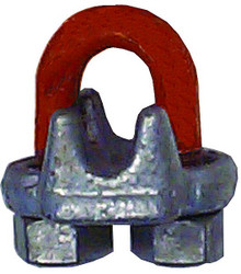 CM Columbus McKinnon Forged Wire Rope Clips: Choose Size