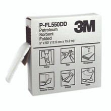3M High-Capacity Petroleum Folded Sorbents (5 in. X 50 ft.): P-FL550DD