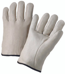 4000 Series Cowhide Leather Driver Gloves (Medium): 4000M