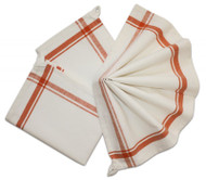 Retro Box Stripe Towels (ORANGE)