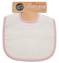 Baby Bib - Baby Pink