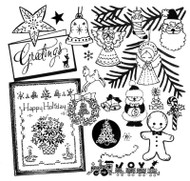 Aunt Martha's #3784 Christmas Miniatures