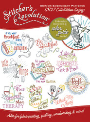 SR27 Stitcher's Revolution Cute Kitchen Sayings