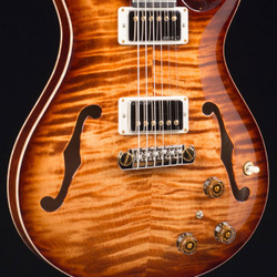 PRS HollowBody II MMG Exclusive Copperhead Burst 10 Top 1609