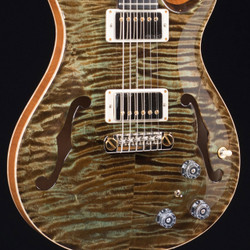 PRS HollowBody II MMG Exclusive 10 Top Mash Green 2175