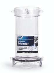 "Camco RV Sewer Hose Extender, 7"" Clear Adapter"