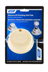Camco Replace All Plumbing Sewer Vent Cap Only - Beige