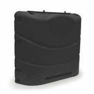 Camco Propane Tank Cover, Black Fits 20# or 30# Dual Tanks